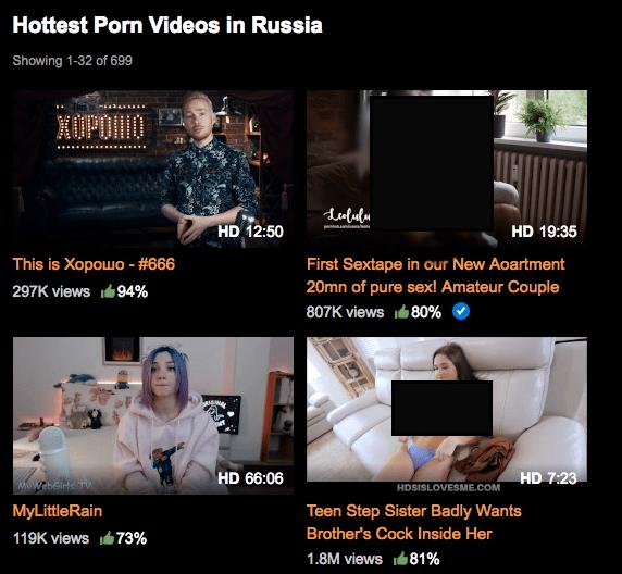 666-й выпуск This is Хорошо вышел на Pornhub, став самым горячим «порно» среди россиян