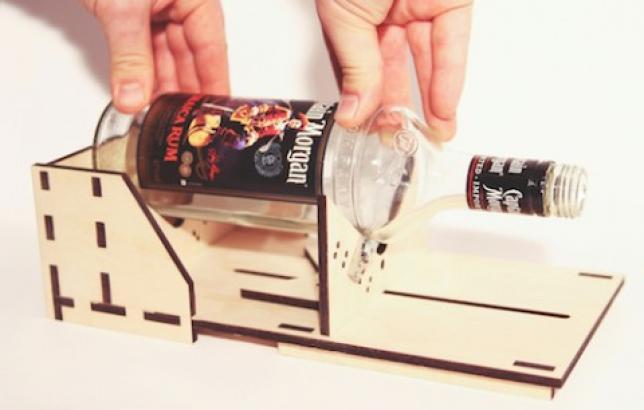 Как сделать резку для бутылок 985