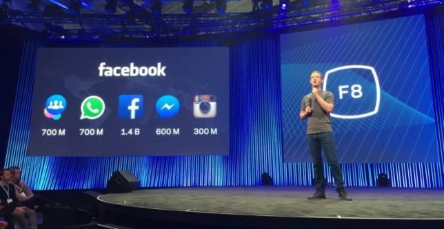 Facebook встал, отряхнулся и снова в строю: все анонсы и новости с конференции F8