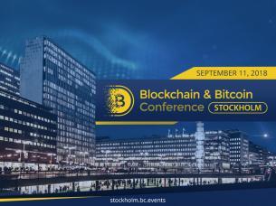 Blockchain &Bitcoin Conference Stockholm