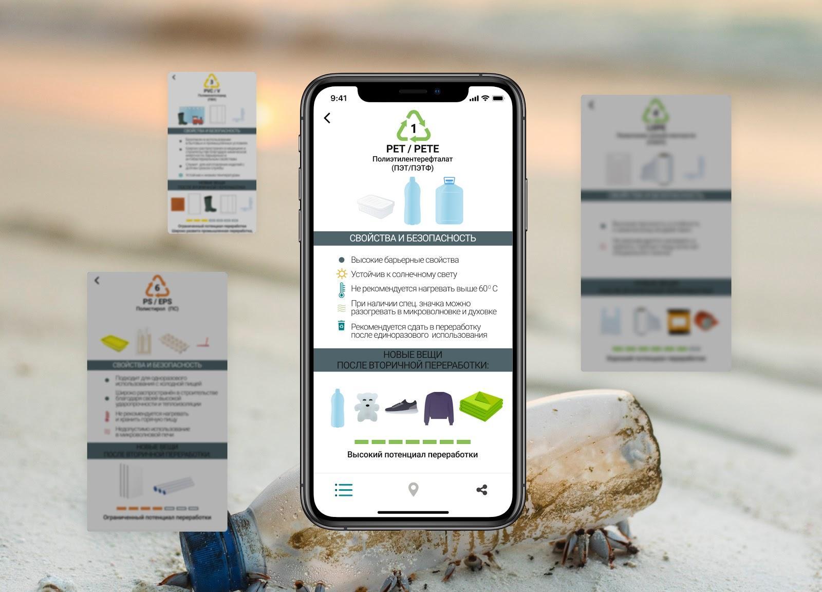 Как устроено приложение Пропластик - каталог всех маркировок пластика от 1 до 7