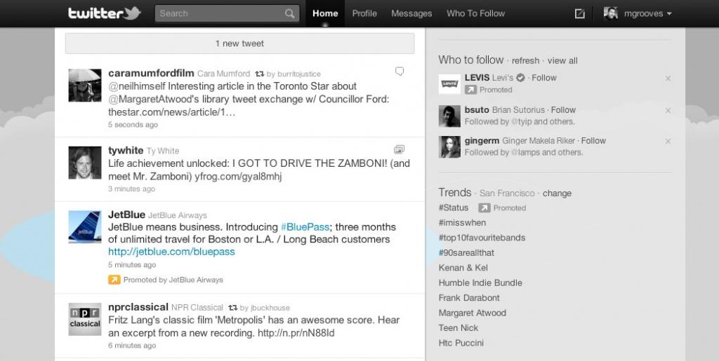 Promoted tweets в Twitter