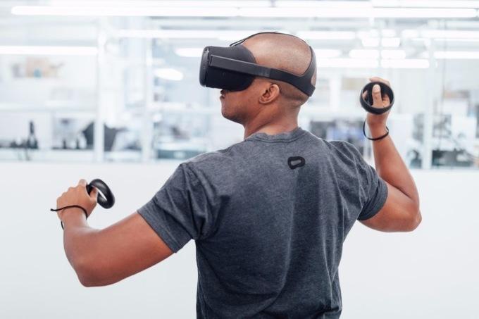 беспроводной VR-шлем