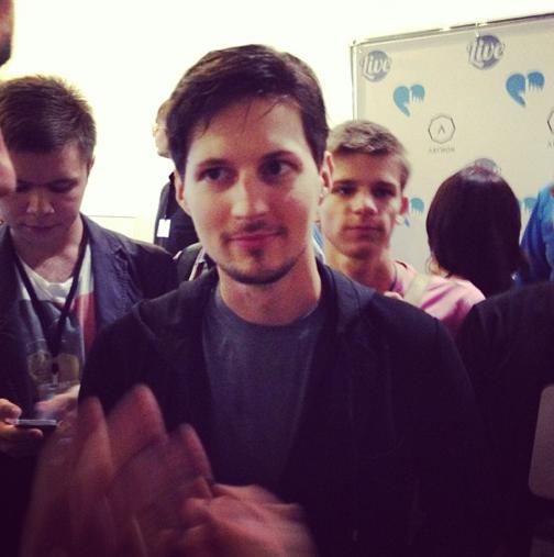 Встреча Liveevent2013 с подписчиками паблика, Павлом Дуровым и ...