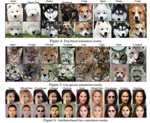 Нейросеть Nvidia умеет менять породы животных и эмоции людей на фотографиях