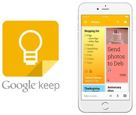 Бесплатный сервис для борьбы с прокрастинацией Google Keep