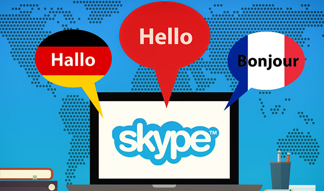 В известном сервисе для общения Skype отныне есть качественный синхронный перевод