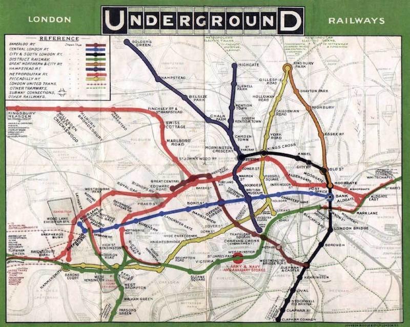 Карта передаёт сложную информацию доступным и наглядным образом