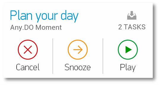 Как спланировать свой день - Any.do Moment
