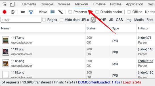 количество запросов браузера chrome