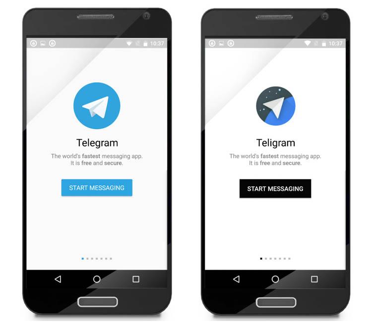 Telegram и Teligram