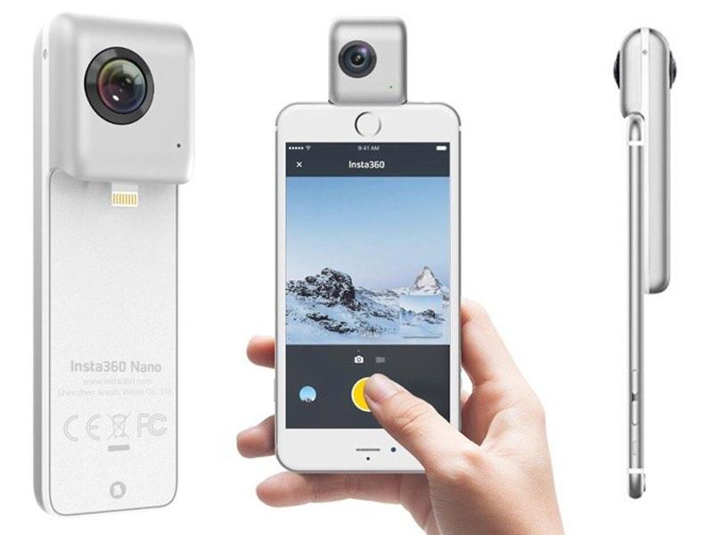 Панорамные камеры для объемного видео