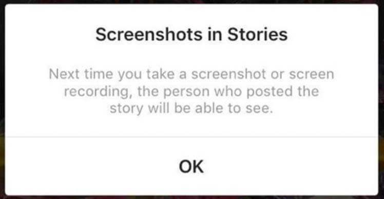 Тайное становится явным: Инстаграм тестирует функцию оповещения о неизвестных скриншотах