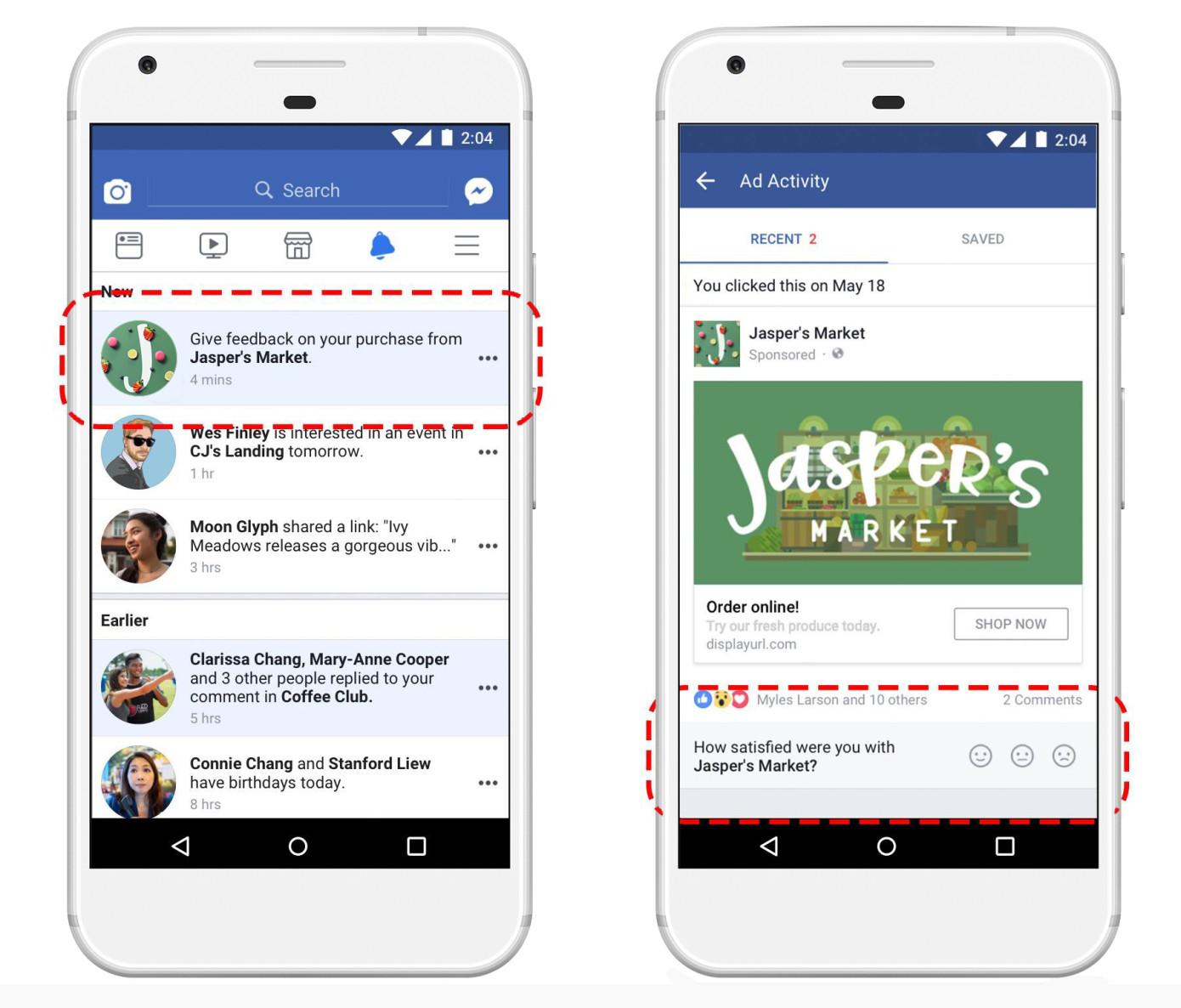 Отзывы о рекламодателях в Facebook