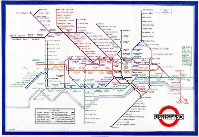 Как научились рисовать карту метро