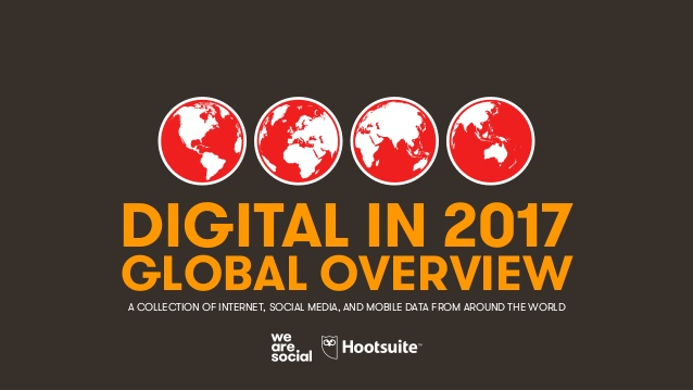 Описание: 1 DIGITAL IN 2017 GLOBAL OVERVIEWA COLLECTION OF INTERNET, SOCIAL MEDIA, AND MOBILE DATA FROM AROUND THE WORLD
