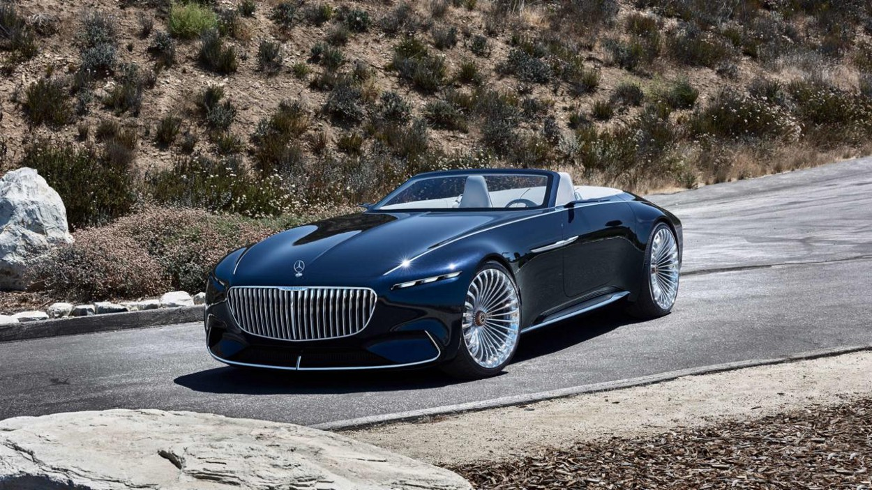 Концепт Mercedes-Maybach 6 Cabriolet