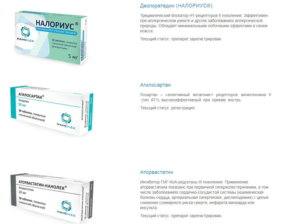 Сайт производителя лекарств