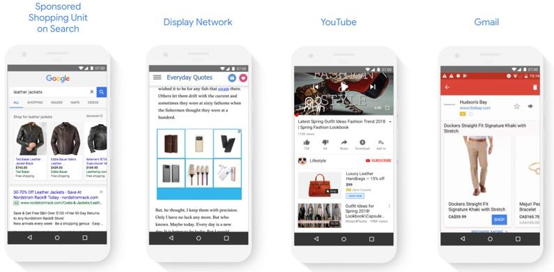Новый тип торговых кампаний в Google AdWords на разных платформах