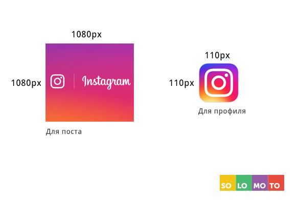 строго размер фотографий в инстаграме бубновому тузу