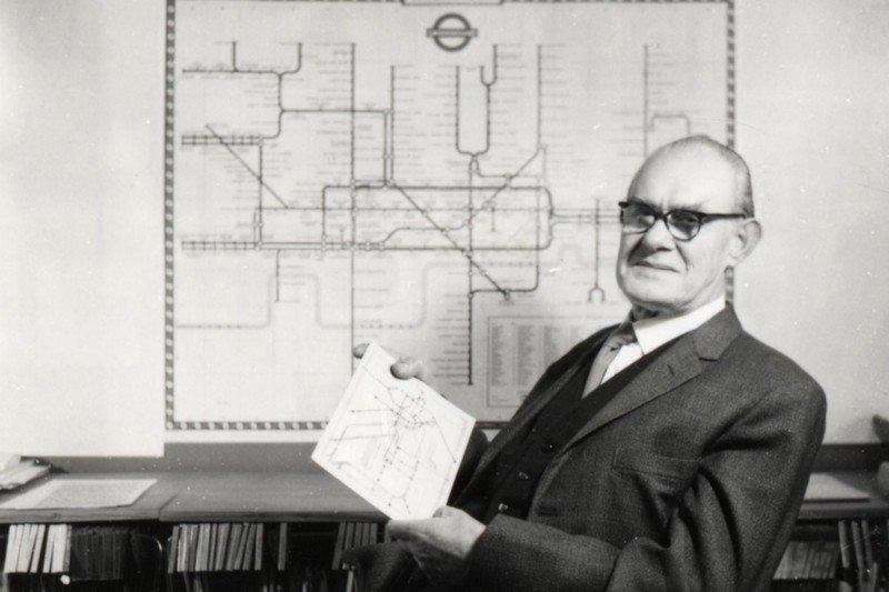 Дизайн Бека установил стандарт для всех других карт метро