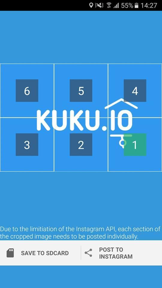 Баннер KUKU.io для Инстаграм