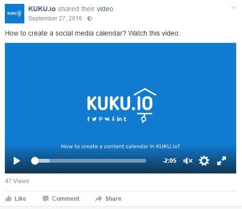 Визуальный контент, обзор KUKU.io